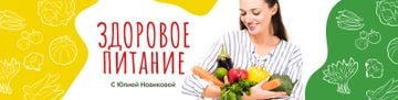 Healthy Nutrition Guide Woman Holding Vegetables | VK Community Cover