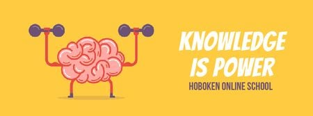 Plantilla de diseño de Brain training with dumbbells Facebook Video cover