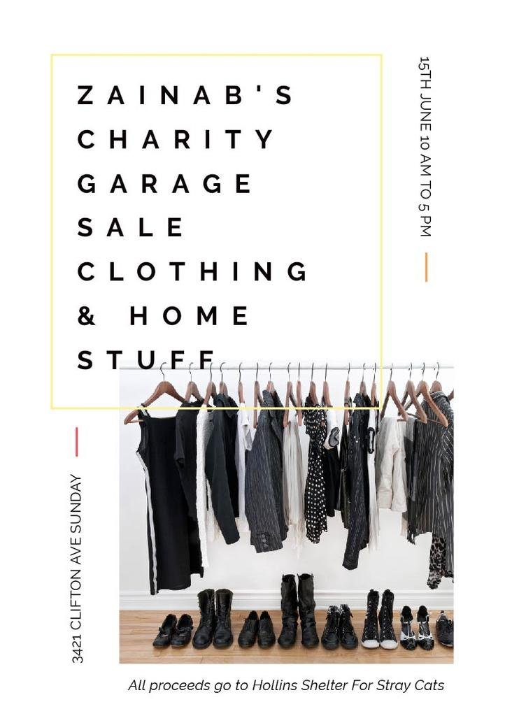 Zainab's charity Garage — Modelo de projeto