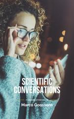 Woman in Glasses Using Smartphone