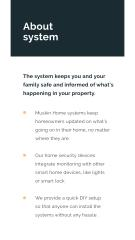 Security System services promotion