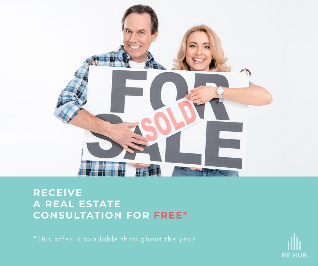 Real estate agent advertisement — ein Design erstellen