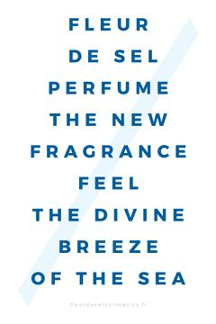 New Perfume Ad in blue