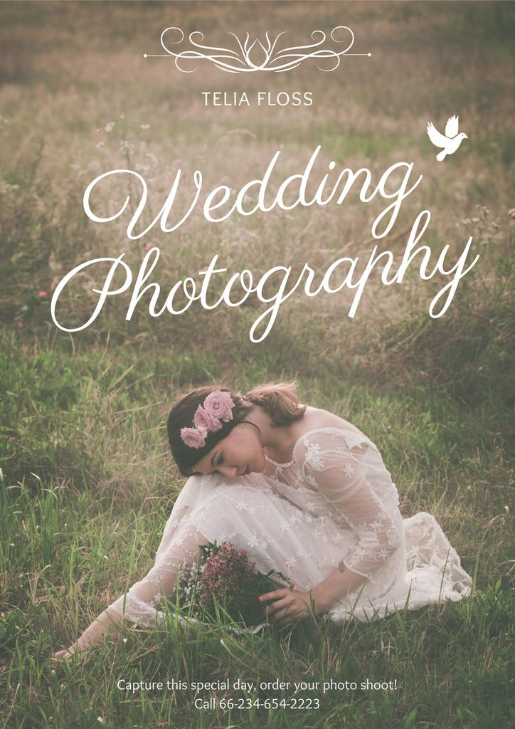 Wedding photography advertisement — ein Design erstellen
