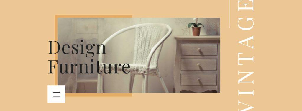 Design Furniture Offer with Modern Interior — Créer un visuel