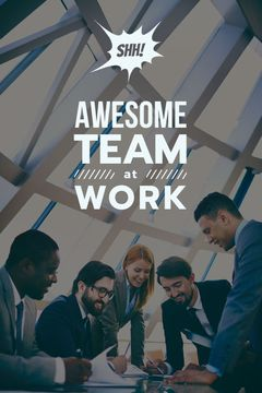 group of business people working together, teamwork concept