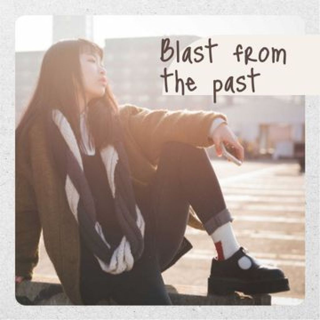 Stylish Girl posing on Street Photo Book – шаблон для дизайна