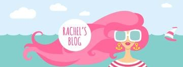 Female blog banner