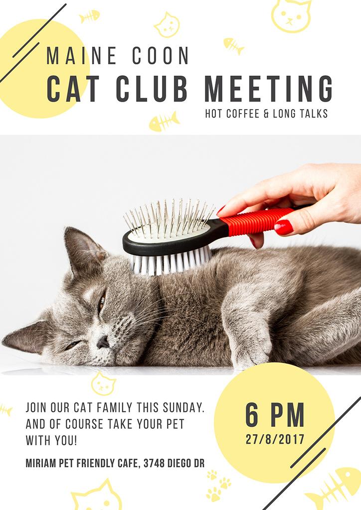 Cat club meeting — ein Design erstellen