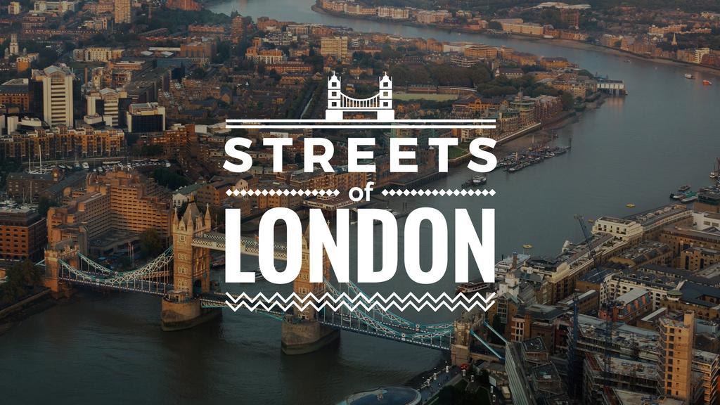 London Tower Travelling Spot | Youtube Channel Art — Створити дизайн