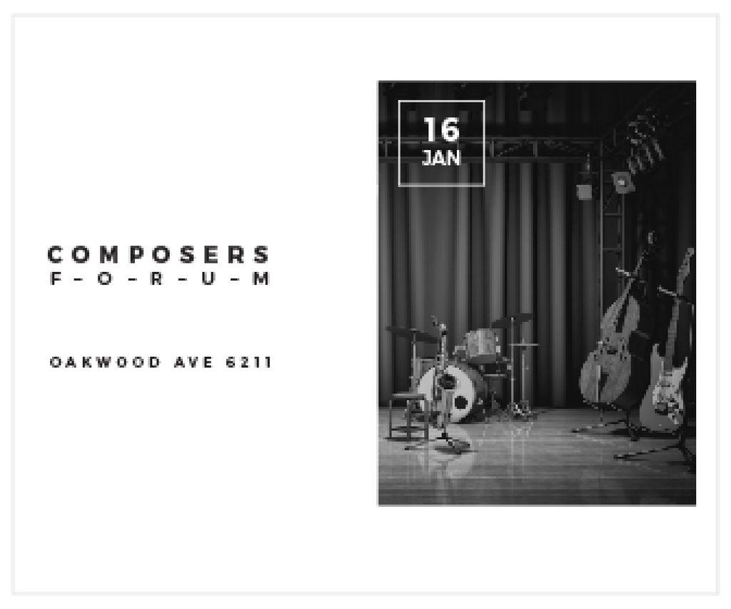 Composers Forum in Clayton Residence — Maak een ontwerp