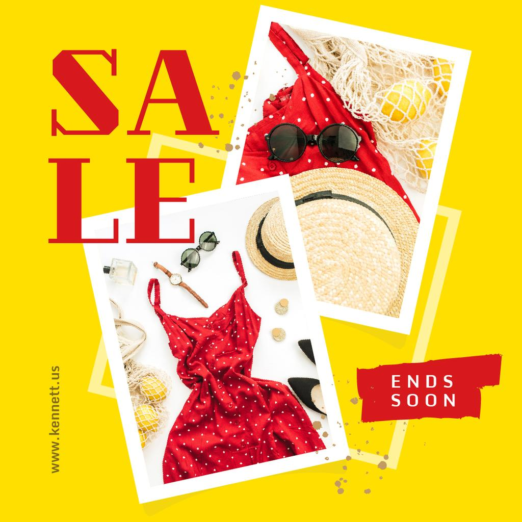 Template di design Female summer clothes Sale Instagram