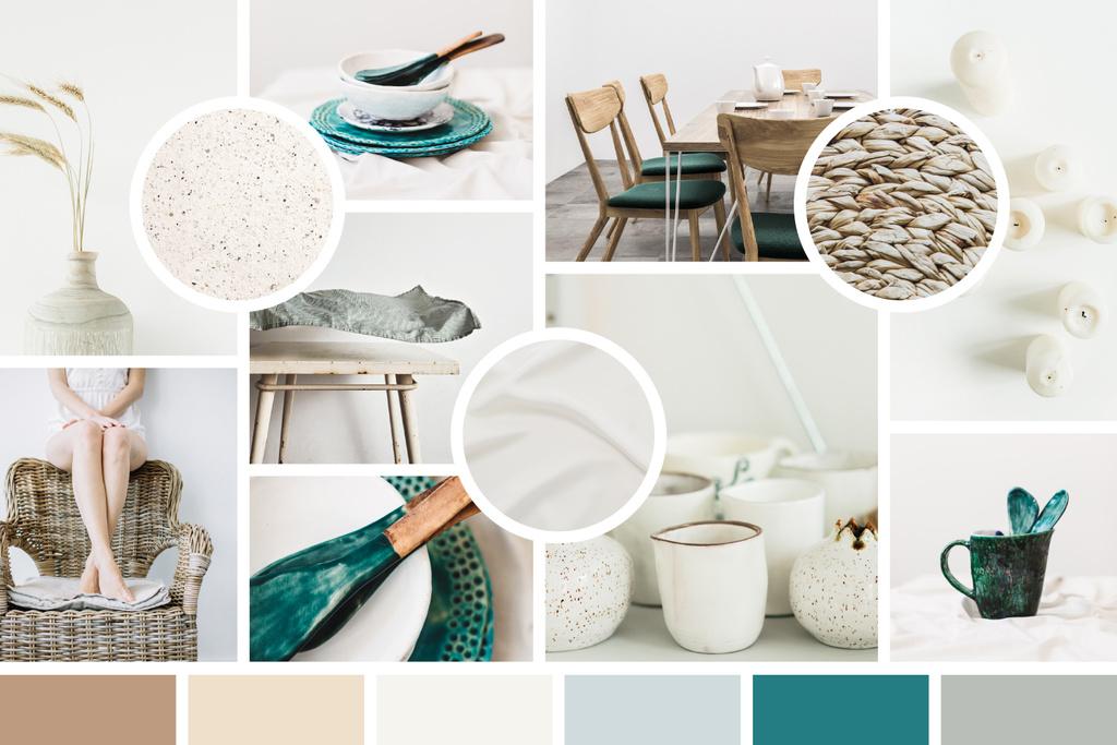Stylish Interior decor and ceramics — Crear un diseño