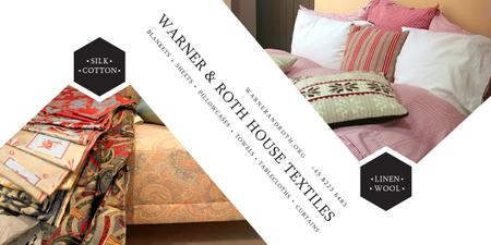 Warner & Roth House Textiles Image Design Template