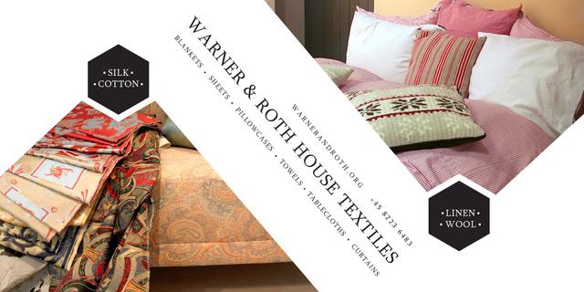 Warner & Roth House Textiles Image – шаблон для дизайну