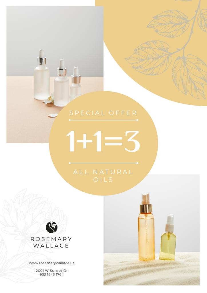 Natural Oils Special Offer — Crear un diseño