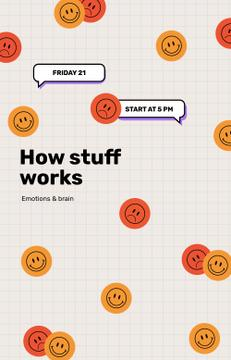 Emotions lecture with Smiley Stickers