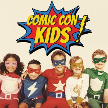 Comic Con kids