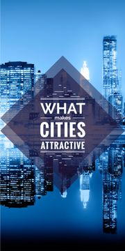 what makes cities attractive poster