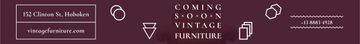 Antique Furniture Ad Luxury Armchair | Leaderboard Template