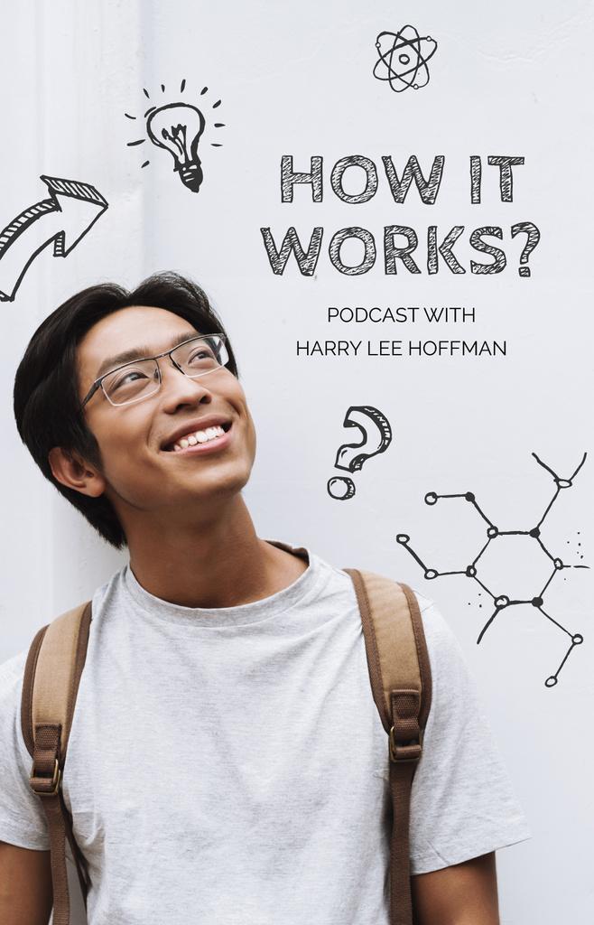 Science Podcast promotion — Crear un diseño