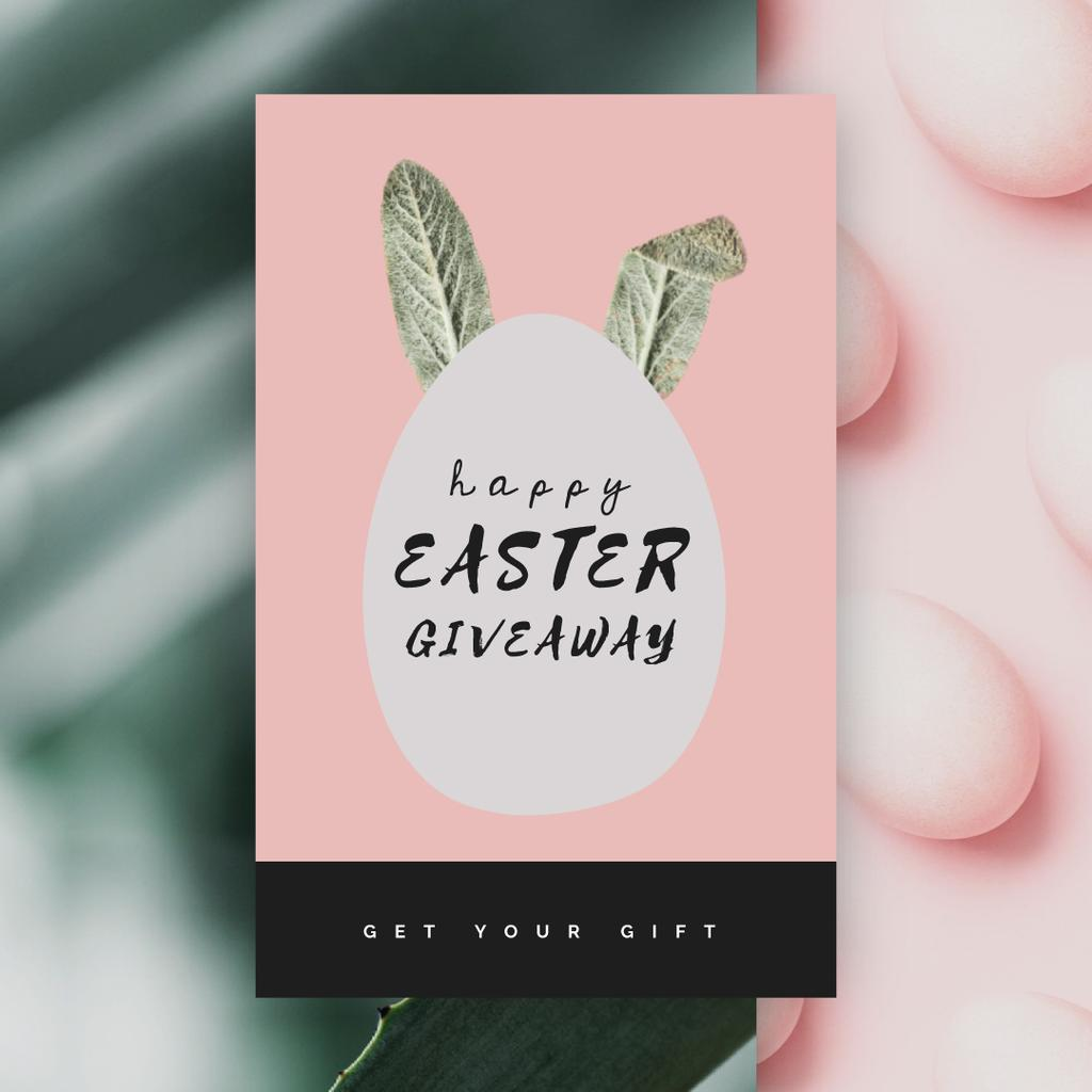 Easter egg with bunny ears — Create a Design