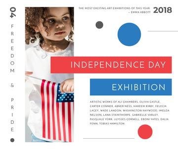 Exhibition on USA Independence Day
