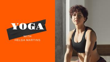 Yoga Coach classes promotion