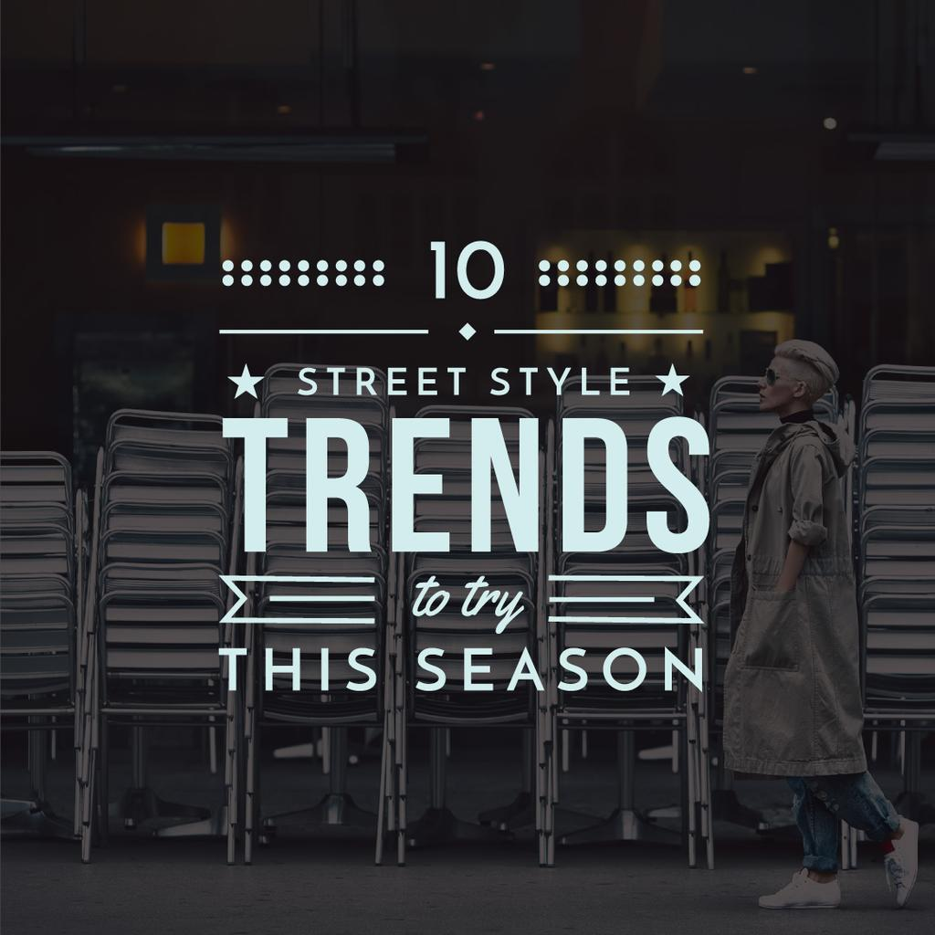 Street style trends poster — Create a Design