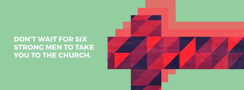 Don't wait for six strong men to take you to the church — Modelo de projeto