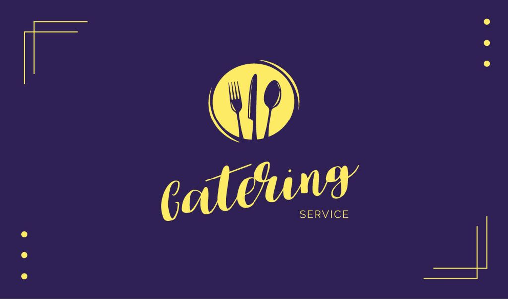 Catering Food Service Offer — ein Design erstellen