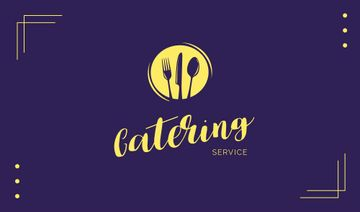 Catering Food Service Logo | Business Card Template