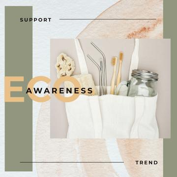 Eco-friendly Trend Sustainable Products