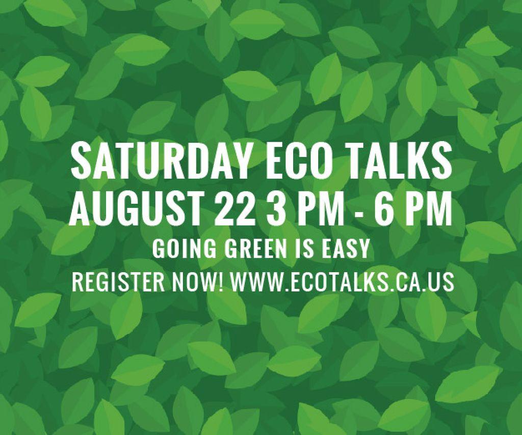 Saturday eco talks  — Створити дизайн