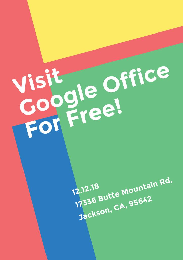 Visit Google Office for free — Créer un visuel