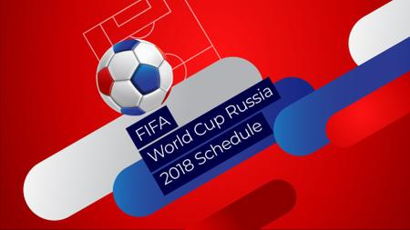 Plantilla de diseño de FIFA Soccer Match Announcement with Jumping Ball Full HD video