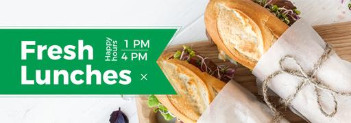 Lunch Recipe Fresh Sandwiches TumblrBanner