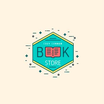 Bookstore Ad Open Book Icon