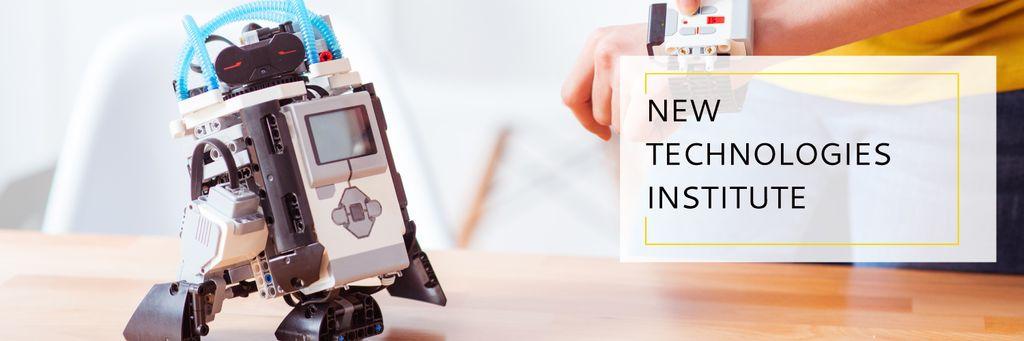 new technologies institute — ein Design erstellen
