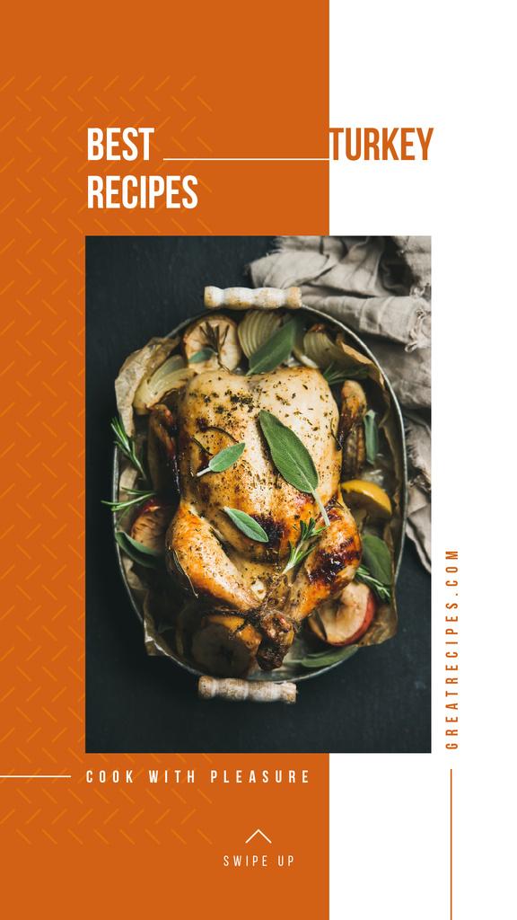 Roasted whole turkey — Створити дизайн