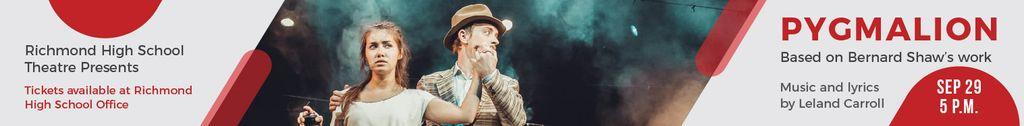 Pygmalion performance in Richmond High Theater — Créer un visuel