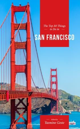 Travelling San Francisco Book Cover Modelo de Design