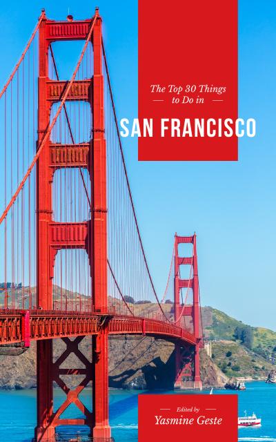 Plantilla de diseño de Travelling San Francisco Book Cover
