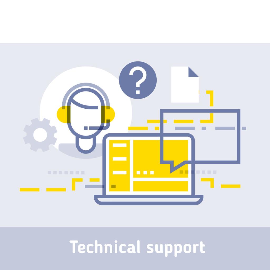 Customers support icon — Créer un visuel