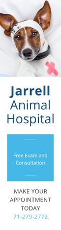 Jarrell Animal Hospital Skyscraper – шаблон для дизайна
