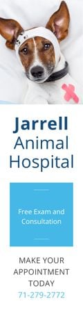 Jarrell Animal Hospital Skyscraper – шаблон для дизайну