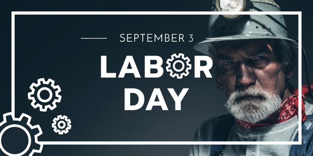 Happy Labor Day Image Design Template