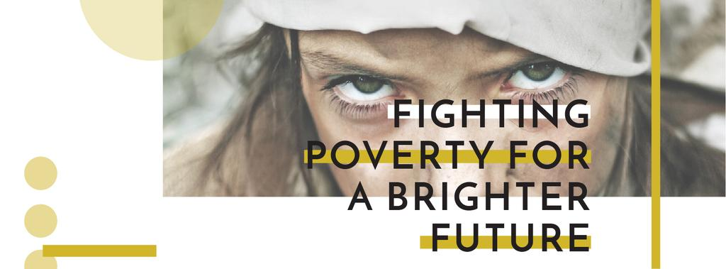 Citation about Fighting poverty for a brighter future — ein Design erstellen