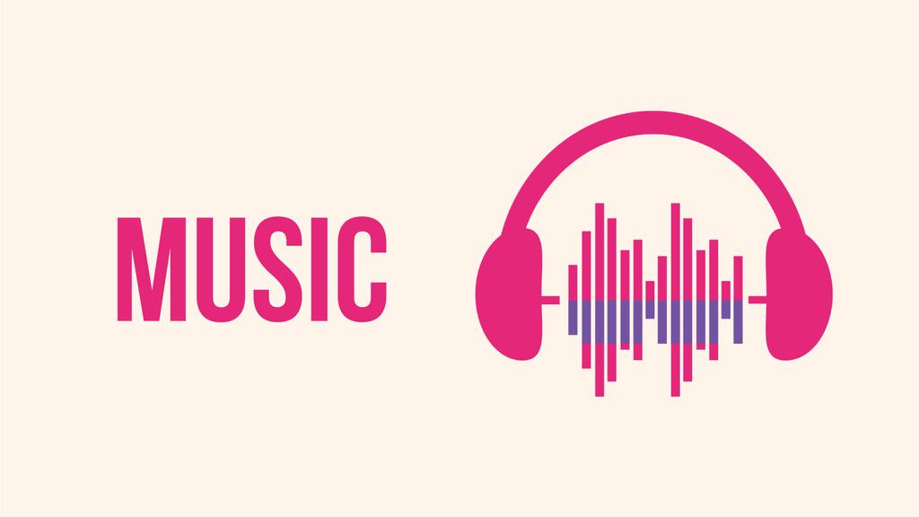 Equalizer Waves and Headphones | Full Hd Video Template — ein Design erstellen