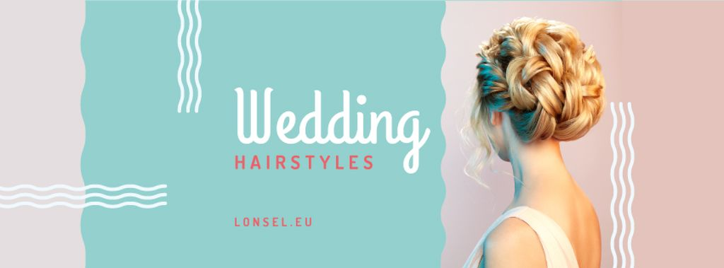 Wedding Hairstyles Offer with Bride with Braided Hair — Создать дизайн